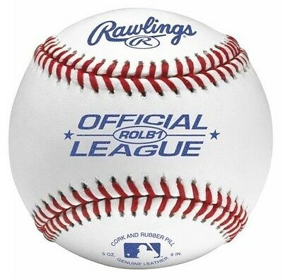 Rawlings Game & Practice Little Leauge Leather Baseball