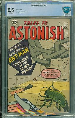 Tales To Astonish #41 [1963] Certified[5.5] Classic Cover