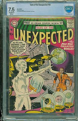 Unexpected #18 [1957] Certified[7.5] Classic Kirby Art