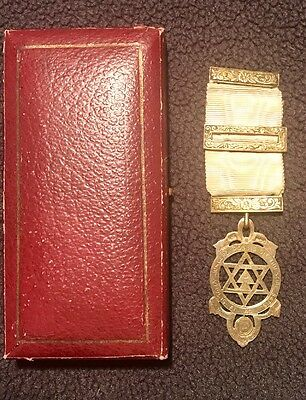 Masonic Silver Guilt Royal Arch Chapter Jewel