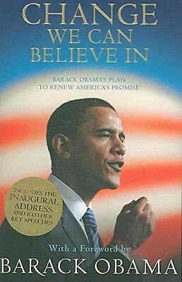 Change We Can Believe in by Barack Obama Paperback Book (English)