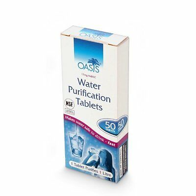OASIS Water Purification 50 Tablets