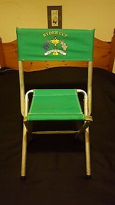 Ryder Cup Kiawah Island Us Telescopic Folding Chair Golf Competition