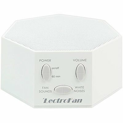 LectroFan - Fan Sound and White Noise Machine, White