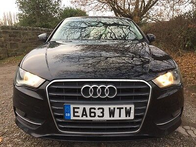2013, 63 Plate Audi A3 Se 2.0 Tdi 5 Door In Black. One Owner In Excellent Cond.