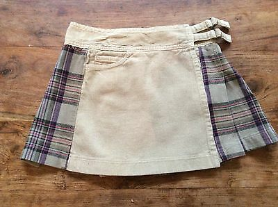 Lovely girls Zara wrap over skirt , age 10