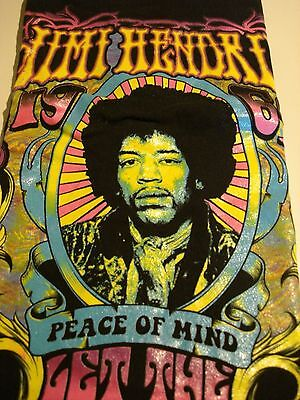Jimi Hendrix Karl Farris Collection Peace Of Mind Tee Shirt Xl Preowned