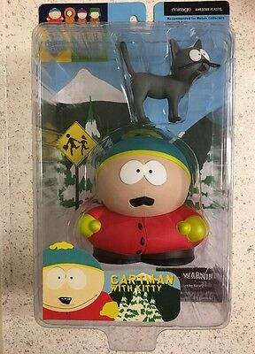 Cartman With Kitty South Park Mirage Series 2 toy figure ULTRA RARE