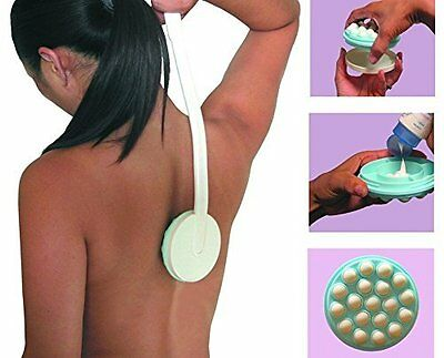 Long Handled Cream Lotion Applicator Back Leg Body Massaging Tool Mobility Aid