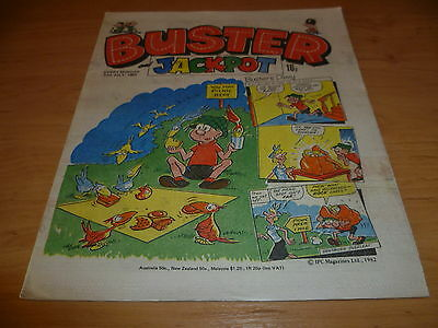 Buster  and Jackpot Comic , 17th July 1982