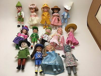 Vintage Lot of 14 Madame Alexander Dolls McDonald's Collection