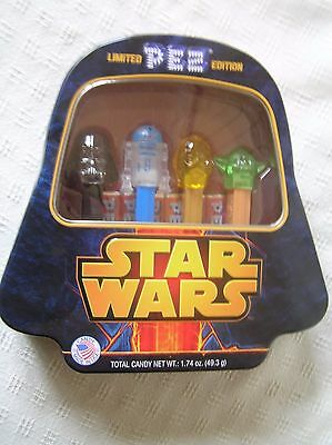Limited Edition Star Wars Pez Darth Vader Collector's Tin NEW