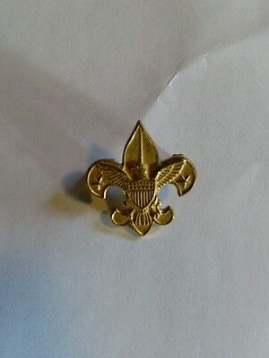 Boy scouts of america vintage tender foot pin 1911 patent on the back