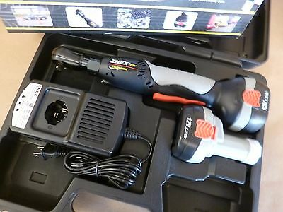 """3/8"""" DRIVE 12V CORDLESS RATCHET KIT W/ 2 BATTERIES - CHARGER & CASE 45 Ft-Lbs"""