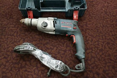 "Bosch 1199VSR 1/2""  Corded Hammer Drill w. case USED Cosmetic Wear --h"