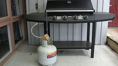 Barbeque with new Gas Cylinder and Safety Switch