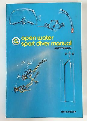 JEPPESEN  4th Edition Open Water Certification Sport Diver Manual ISBN 08848710