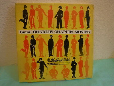 Two Vintage Charley Chaplin  8mm Films The Tramp and The Vagabon
