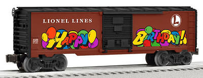 Lionel Trains 6-81256 Personalized Message Birthday Boxcar