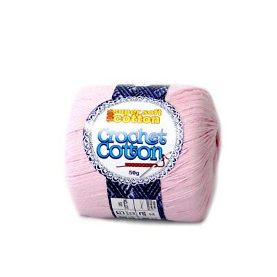 New  Crochet Cotton Baby Chatterbox 50g - 10 Pack