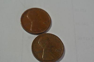 1912 D lincoln Pennies