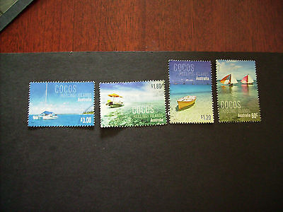 No-20---2011   COCOS   ISLAND   ISSUED     STAMPS --4  USED