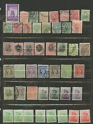 SERBIA--Accumulation of 77 stamps