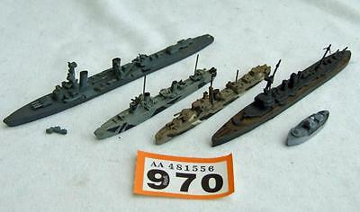OR970 White metal waterline ships 1:1200
