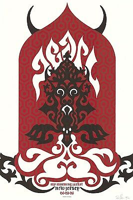 MINT Pearl Jam East Rutherford 2006 Klausen SIGNED A/P Poster 39/100