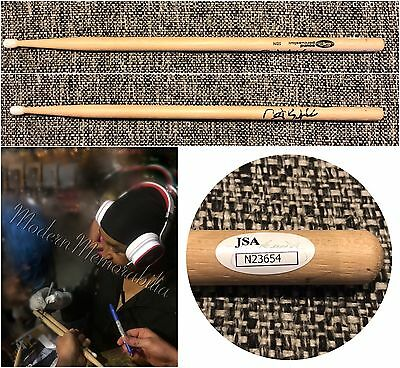 Carter Beauford Signed Autographed Drumstick Dave Matthews Band Coa