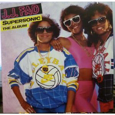 JJ FAD Supersonic LP VINYL 10 Track Light Stain On The Sleeve (7909561) German
