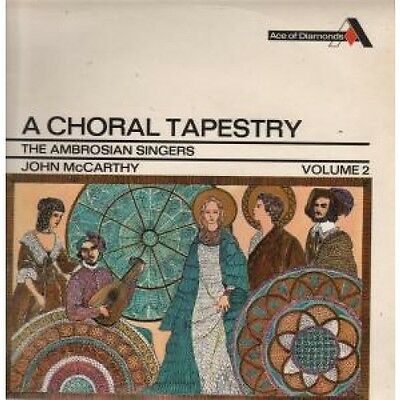 AMBROSIAN SINGERS A Choral Tapestry LP VINYL 22 Track Stereo Pressing (Sdd196)