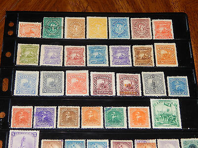 Salvador stamps  - BIG lot of 263 mint hinged and used early stamps - super !