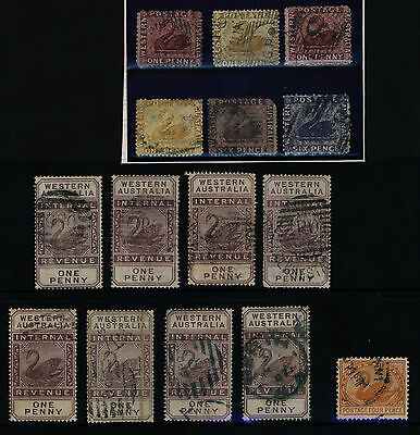 Western Australia State Stamp Assortment