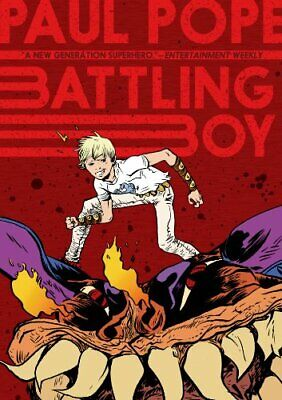 Battling Boy by Paul Pope Book The Cheap Fast Free Post
