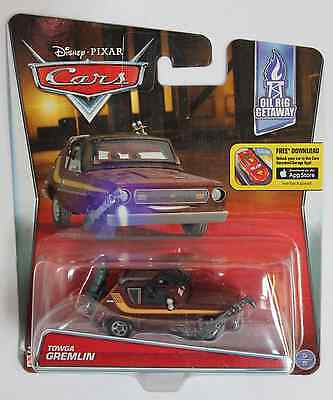 Disney Pixar Cars 2016 New Towga Gremlin  IMPERFECT PACKAGE