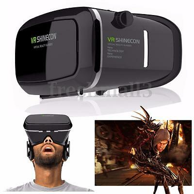 SHINECON 3D Virtual Reality VR Box Glasses 360° View for iPhone 7 Plus 6 6S 5S 5