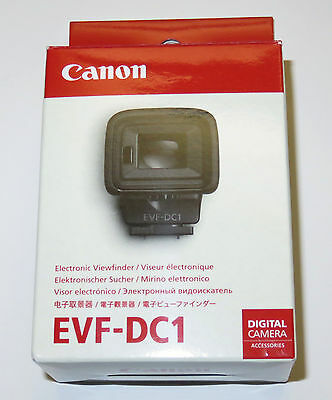 CANON Genuine EVF-DC1 Electronic Viewfinder for G1 X Mark II, G3 X, & EOS M3