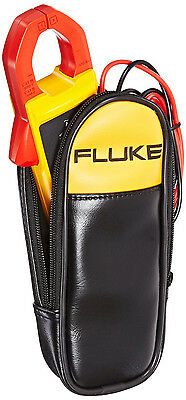 Fluke True RMS Clamp Meter Digital Display AC DC Voltage CAT Cable Wire Electric