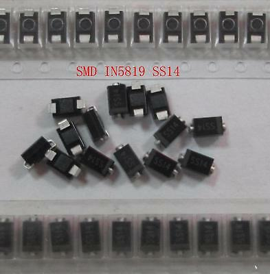 200pcs Wholesale Lot Silicone SMD IN5819 SMD SS14 Schottky Diodes