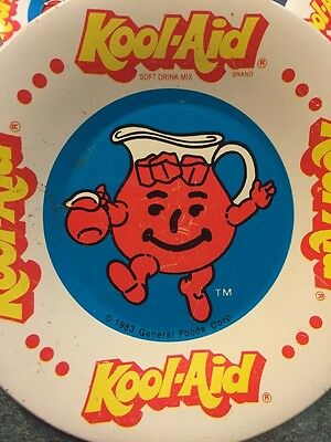 Vintage Advertising Kool Aid Metal Toy Child's Plates