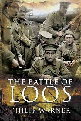 The Battle of Loos by Philip Warner Hardcover Book (English)