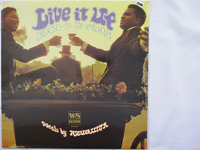 KAKO & HIS ORCHESTRA LP, LIVE IT UP (WEST SIDE LATINO US Issue NM/NM)