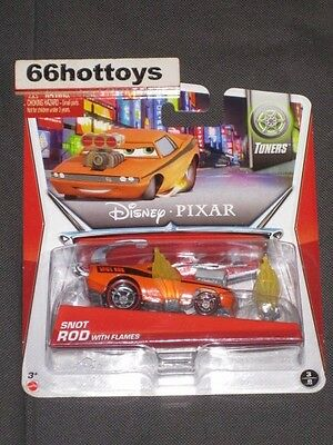 Disney Pixar Cars Snot Rod With Flames 2014 New