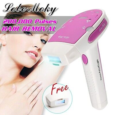 IPL Permanent Hair Removal Machine 200,000 Pulses For Face & Body Device Home