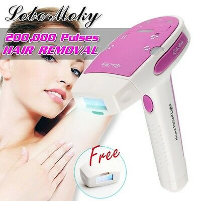 LOBEMOKY IPL Permanent Hair Removal Machine 200,000 Pulses For Face & Body Home