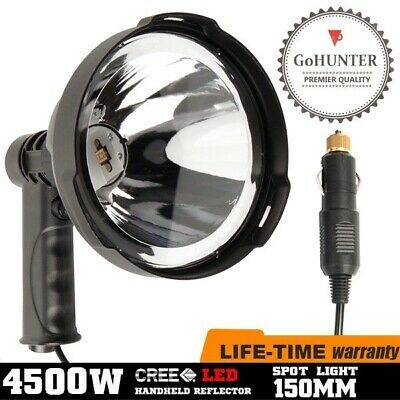 GoHUNTER 45W LED Handheld Hunting Spot Light Work Spotlight Camping FREE BAG