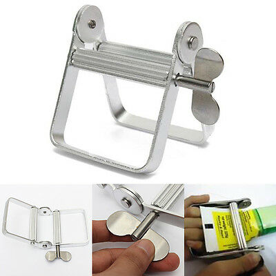 Useful Aluminum Tube Squeezer Tool for Hair Color Cake Paint Glue Tubes Durable