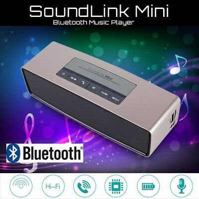 SOUNDLINK Mini Speaker Bluetooth Wireless AUX Stereo Music HiFi FM Radio USB