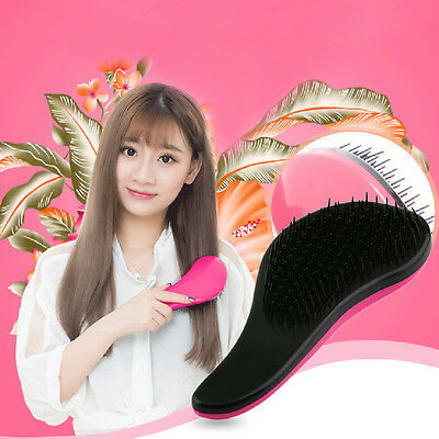 Magic Handle Tangle Detangling Comb Shower Hair Brush Salon Styling Tamer Z1